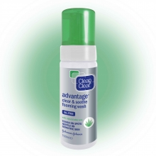 CLEAN & CLEAR® Advantage Clear & Soothe Foaming Face Wash