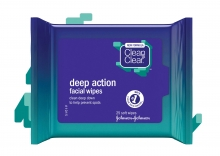 CLEAN & CLEAR®  Deep Action Wipes