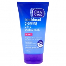 Blackhead Clearing 2-in-1 wash & mask