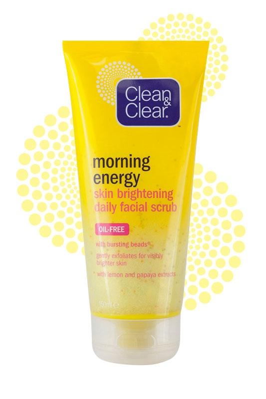 CLEAN & CLEAR® Morning Energy Skin Brightening Daily Facial Scrub