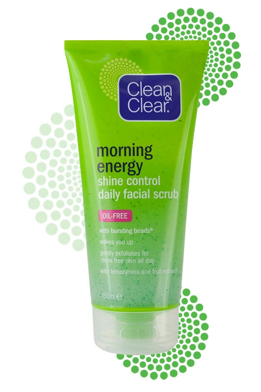 CLEAN & CLEAR® Morning Energy Shine Control Daily Facial Scrub