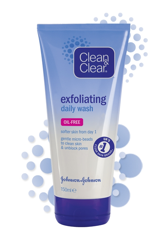 CLEAN & CLEAR® Exfoliating Daily Wash