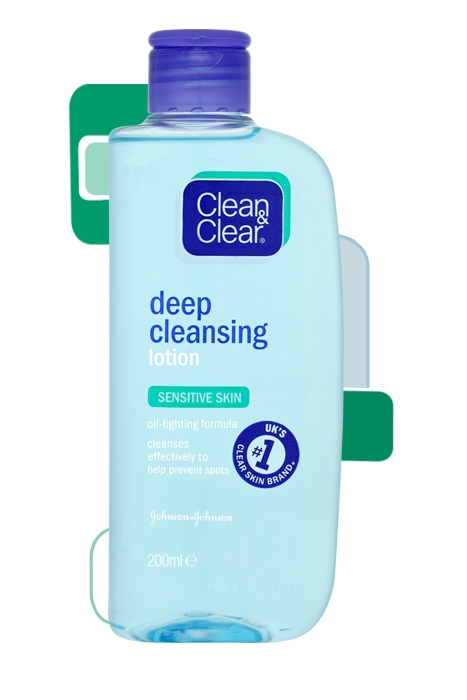 CLEAN & CLEAR®  Deep Cleansing Lotion