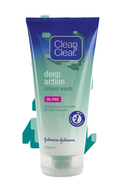 CLEAN & CLEAR® Deep Action Cream Wash