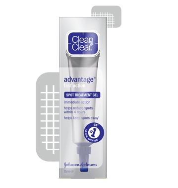 CLEAN & CLEAR® Advantage Spot Control Treatment Gel